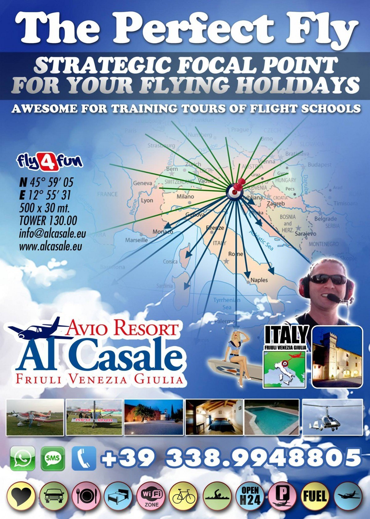 airfield italia udine 1200x1682 Strategic focal point for your flying holidays
