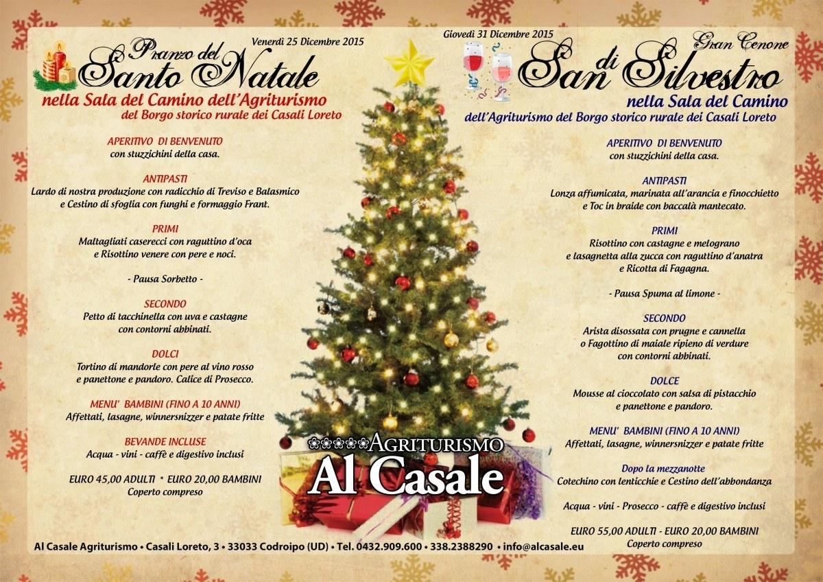natale capodanno 2015 codroipo agriturismo 1200x848 Pranzo di Natale e Cenone di San Silvestro in agriturismo a Codroipo